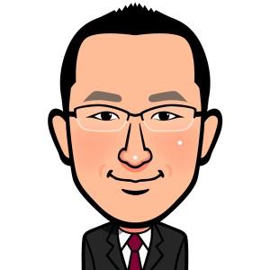 代表の徳田です。よろしくお願いします。 ところで、この似顔絵ホント~によく似てます!